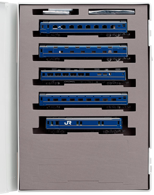 TOMIX Nゲージ 24系 25形 特急寝台 北斗星 混成編成 基本5両セット 92397 鉄道模型 客車 B004GI0HAA