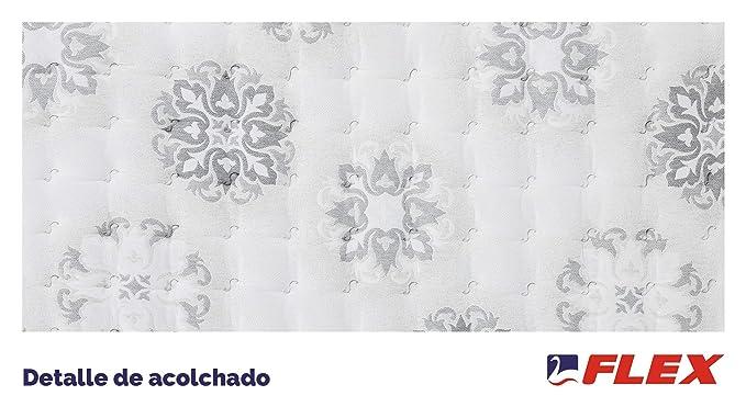 FLEX Colchón muelles ensacados Nimbus Visco Firmeza Media, 150 x 190 cm: Amazon.es: Hogar