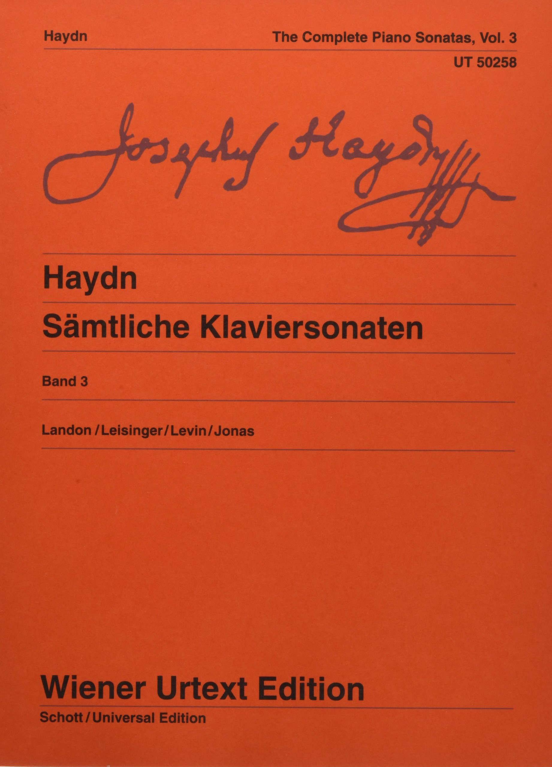 Download Haydn: Complete Piano Sonatas - Volume 3 pdf
