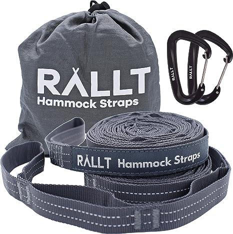 Rallt Hammock Tree Straps - Top Pick Hammock Straps