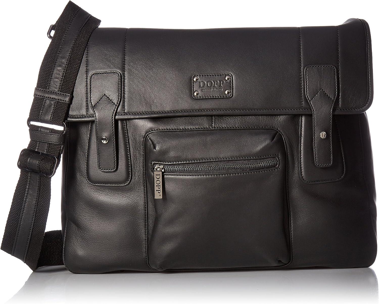 Dopp Men s Leather Messenger Bag
