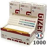 Scatola di 250 tubi con filtro x4 Silver Tips Giza