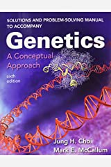 Solutions and Problem-Solving Manual to Accompany Genetics: A Conceptual Approach Paperback