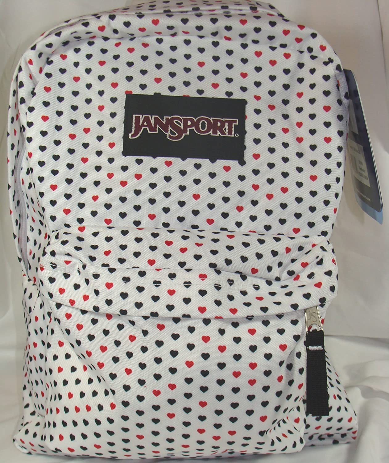 amazon com jansport classic superbreak backpack white red black