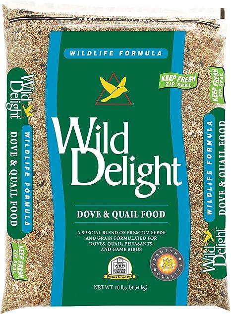 Amazon Com Wild Delight Dove Quail Food 10 Lb Garden Outdoor
