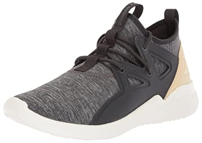 Reebok Women's Cardio Motion Cross Trainer, Coal/Ash Grey/Straw/Chalk,
