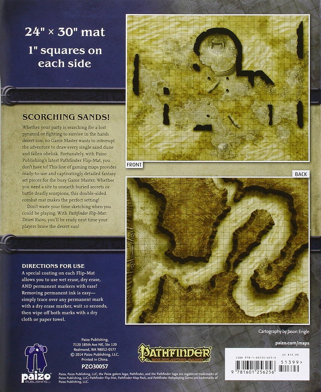 Pathfinder Flip-Mat: Desert Ruins: Engle, Jason A., Engle, Jason A.: Amazon.es: Juguetes y juegos