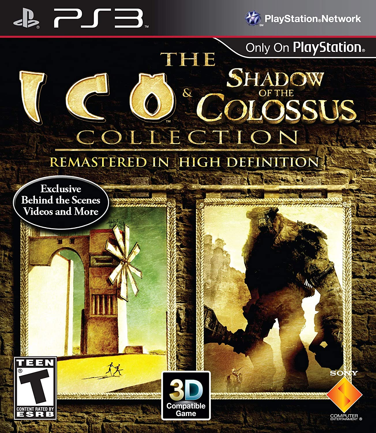 Amazon Com The Ico And Shadow Of The Colossus Collection Renewed