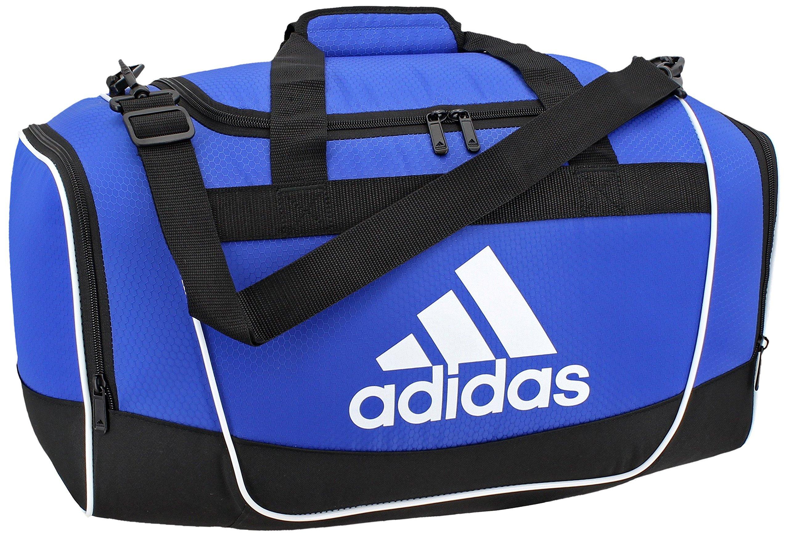 f72c0f50e108d4 adidas Defender II Duffel Bag, Bold Blue, Medium - Defender II ...