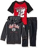 Ecko Unltd. Boys' Toddler Jacket, T-Shirt and Pant