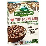 Cascadian Farm Organic Granola, Dark Chocolate Almond Cereal, 13.25 oz