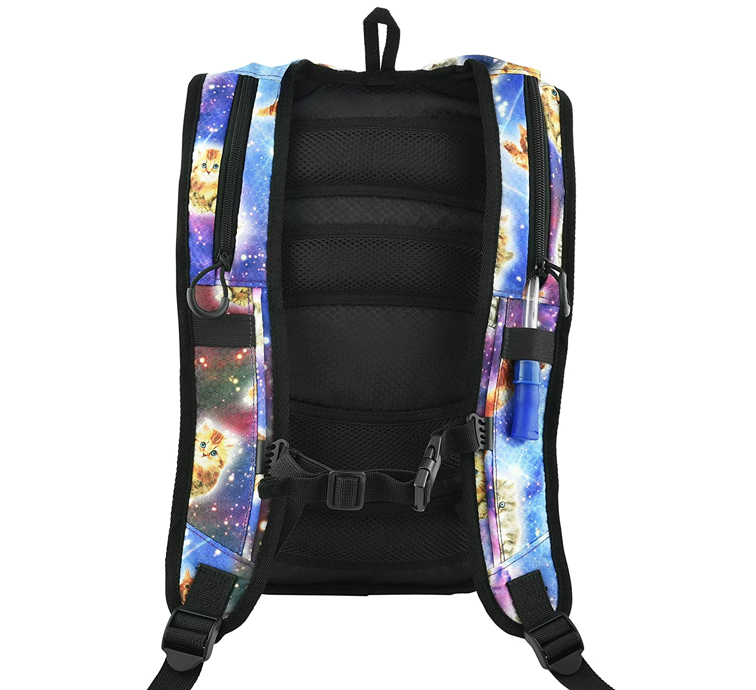 Amazon.com: KANDYPACK Rave Hydration Pack Backpack with Water Bladder (Pink Holographic): Kandy Pack