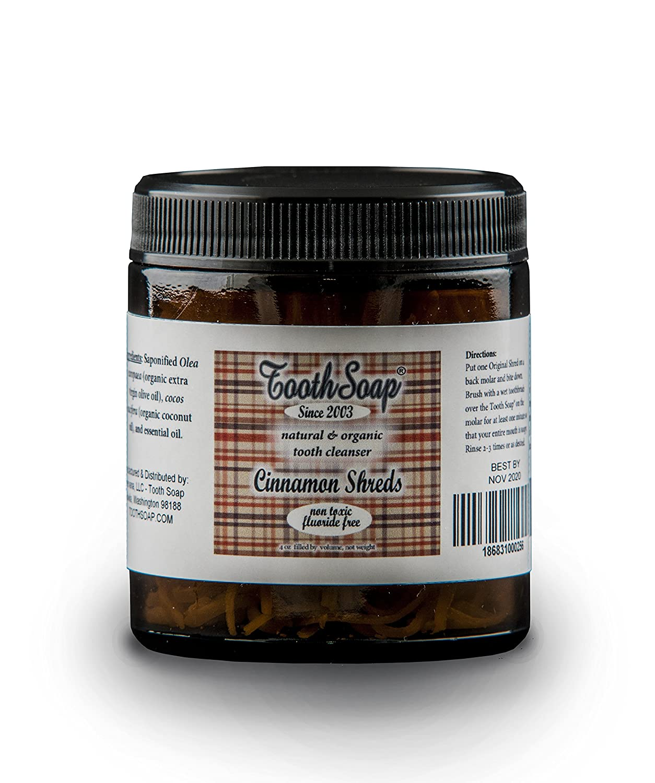 Best Organic Essential Oils 2020 Amazon.com: Tooth Soap – Peppermint Shreds – 4 oz   All Natural