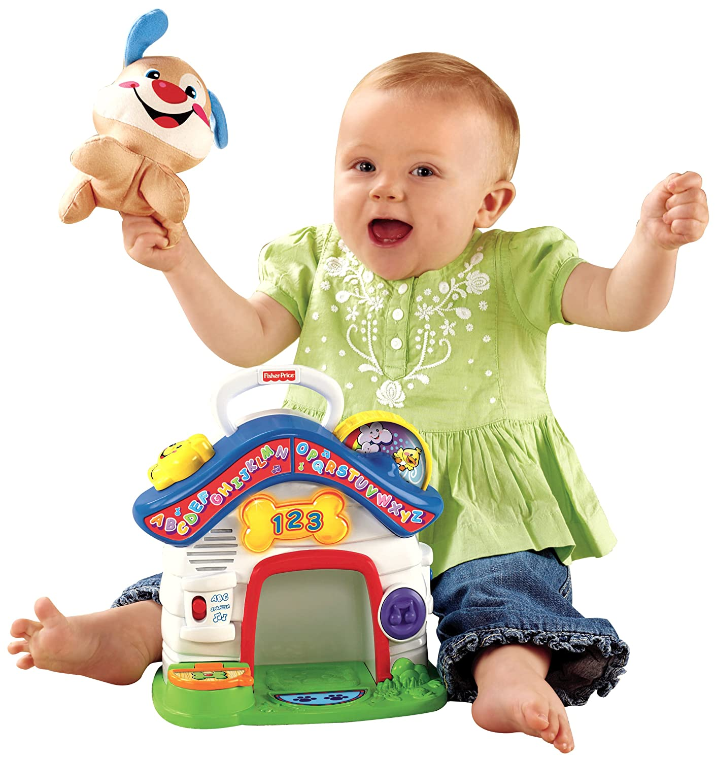 Fisher-Price Laugh /& Learn Puppys Playhouse