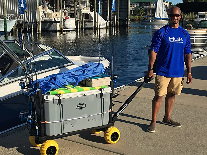 how to choose the best surf fishing cart