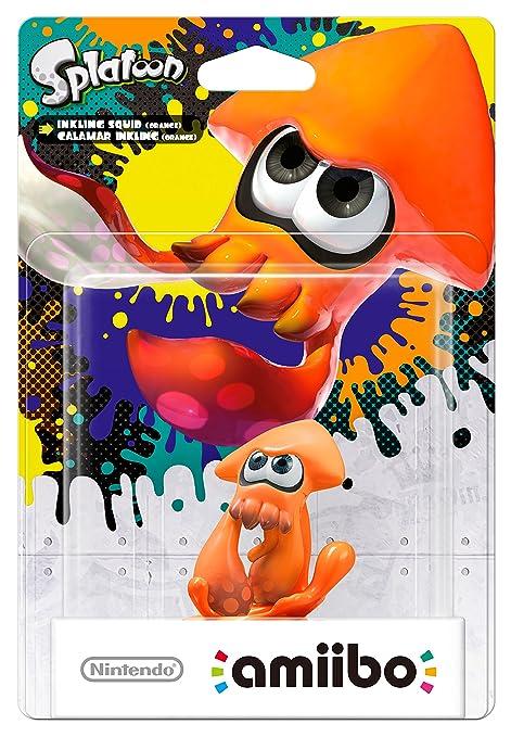 250 opinioni per Amiibo Calamaro Inkling, Arancione- Splatoon Collection