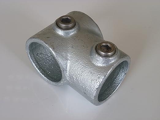 Konstruktionsrohr ST 37 B/&T Metall Stahl Rundrohr verzinkt L/änge ca feuerverzinkt /Ø 33,7 x 3,2 mm 1,0m Hohl-Profil 1