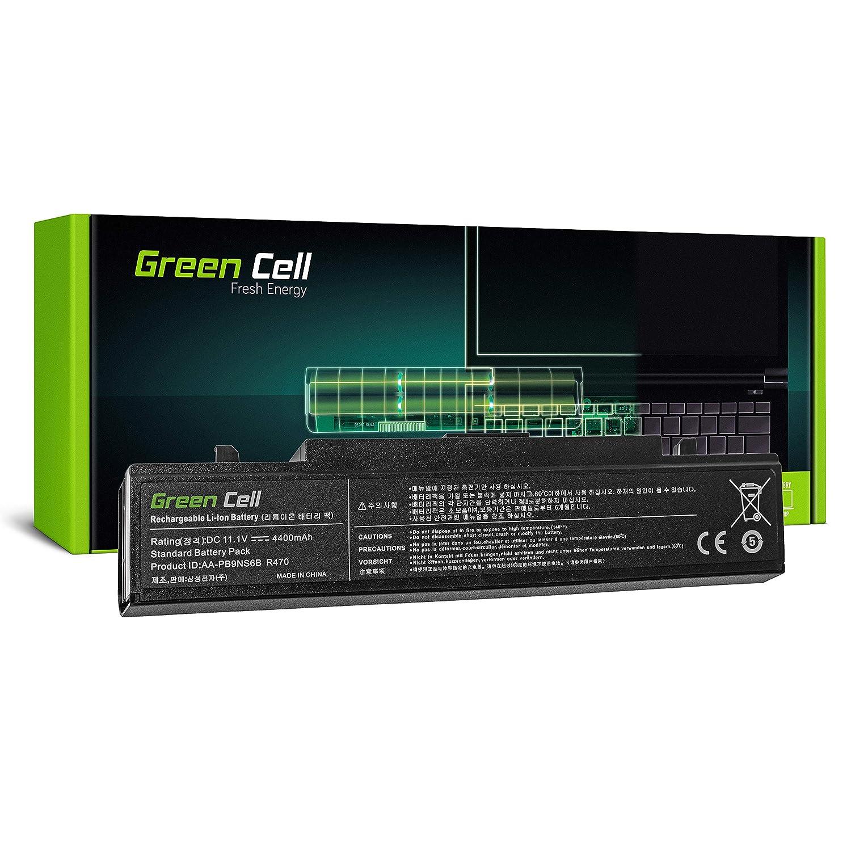 Green Cell® Standard Serie AA-PB9NC6B AA-PB9NS6B Batería para Samsung R519 R522 R525 R530 R540 R580 R620 R719 R780 Ordenador (6 Celdas 4400mAh 11.1V Negro): ...