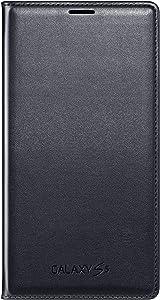 Samsung Galaxy S5 Case Flip Cover Wallet Folio, Black