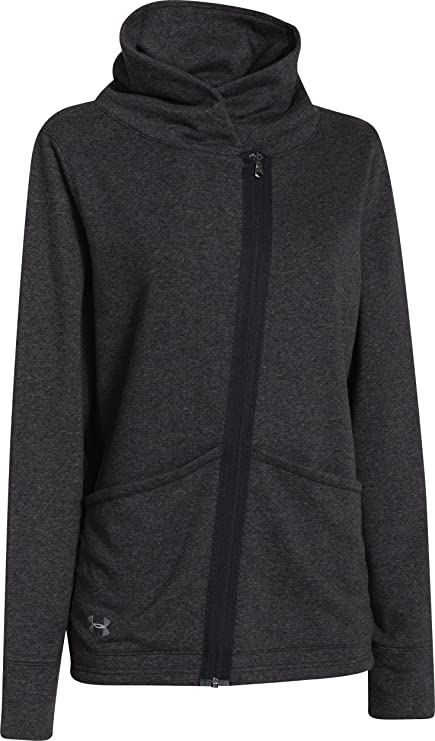 quality design f29a0 dfaef Under Armour Women s Wrap Up Full Zip (X-Small, Black)