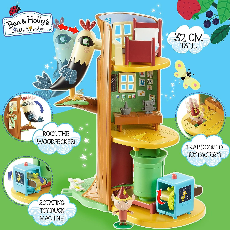 Amazon.com: Ben y Holly Elf Árbol Playset: Toys & Games