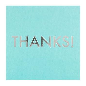 Hallmark 25450643 Tarjeta de agradecimiento mediana con mensaje