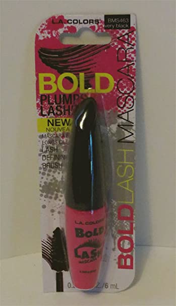 L.A. Colors Bold Lash Mascara BMS463 Very Black
