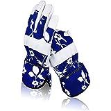 Zeemplify Leather Gardening Gloves for Women, Small