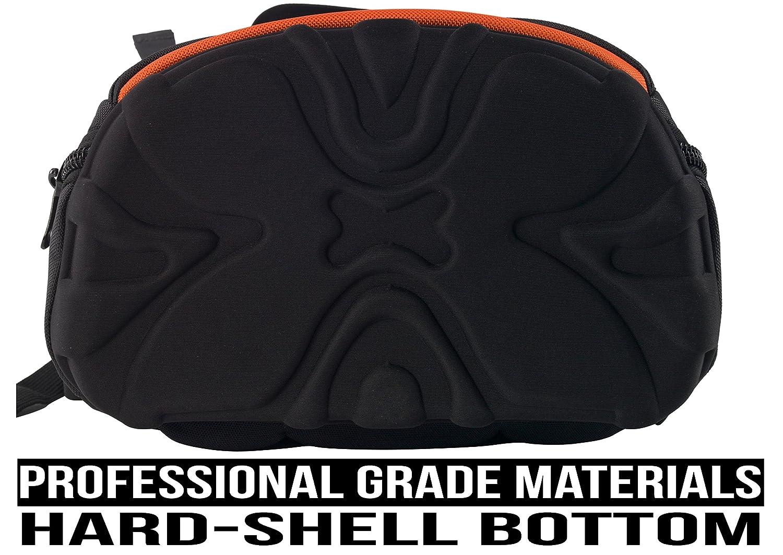 Mochila para herramientas de comerciante con 28 bolsillos, resistente, ideal para almacenamiento y organizador para un contratista, electricista, fontanero, ...