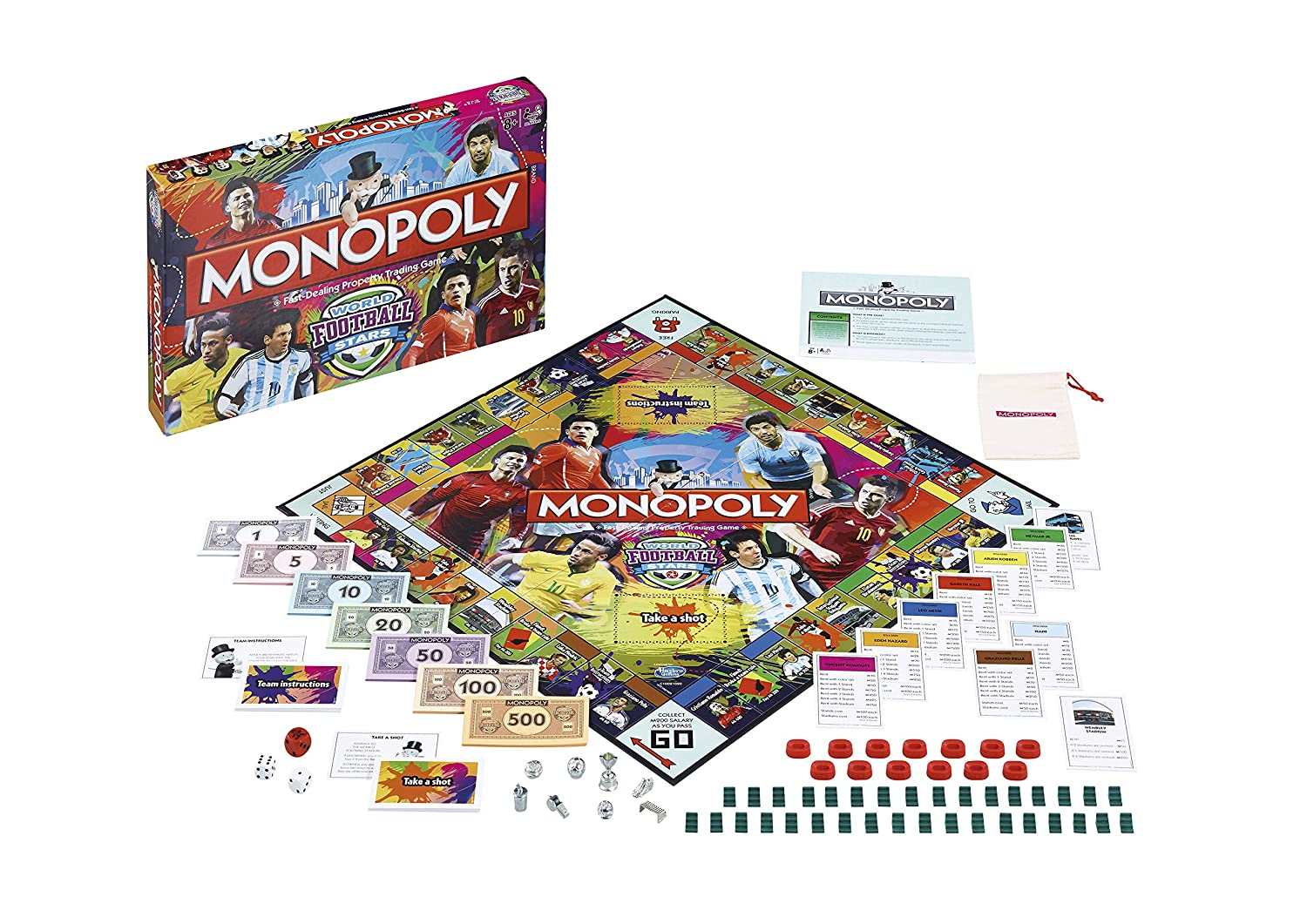 football monopoly board game