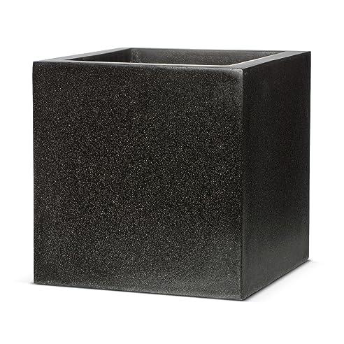 Pflanzgefäss Cube Grandelight schwarz - anthrazit von Capital ...