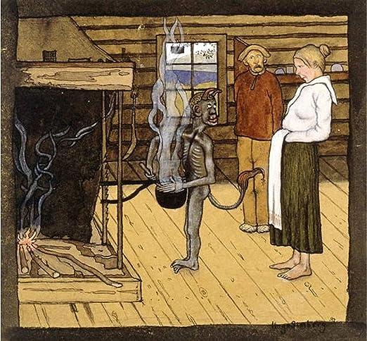 Amazon.com: Devil by the Pot by Hugo Simberg: Home & Kitchen
