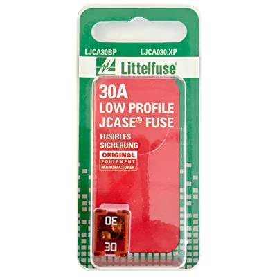 Littelfuse LJCA030.XP JCASE Low Profile 30 Amp Carded Fuse: Automotive