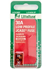Littelfuse LJCA030.XP JCASE Low Profile 30 Amp Carded Fuse