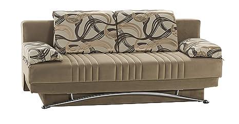 Amazon.com: Fantasía sofá Sleeper en el mejor Vizon: Home ...