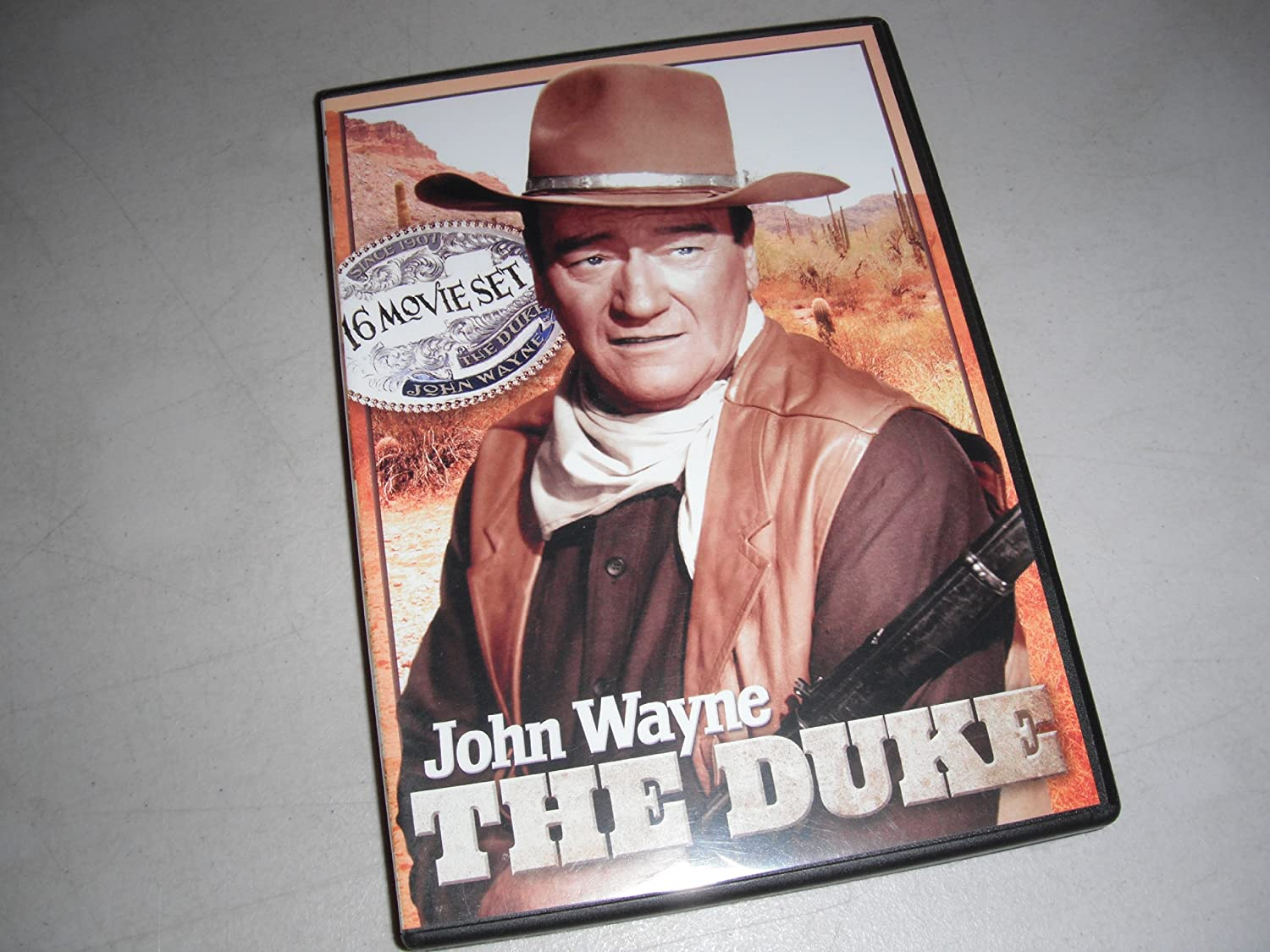 JOHN WAYNE: THE DUKE - 16 MOVIE BUNDLE