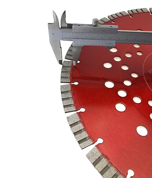 PRODIAMANT Qualit/é Premi/ère Disque /à tron/çonner diamant B/éton//universel 350 x 30 mm PDX822.011 TURBO 350mm