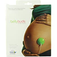Bellybuds Baby-Bump Sound System with 10 Pairs of Adhesives, Deluxe