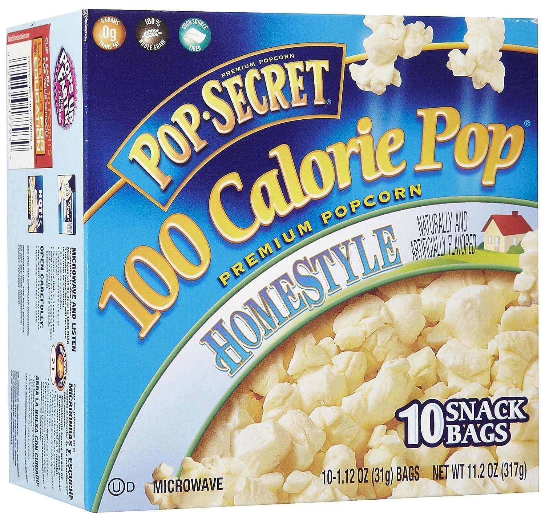 Pop Secret 100 Calorie Homestyle, 10 ct, 11.2 oz