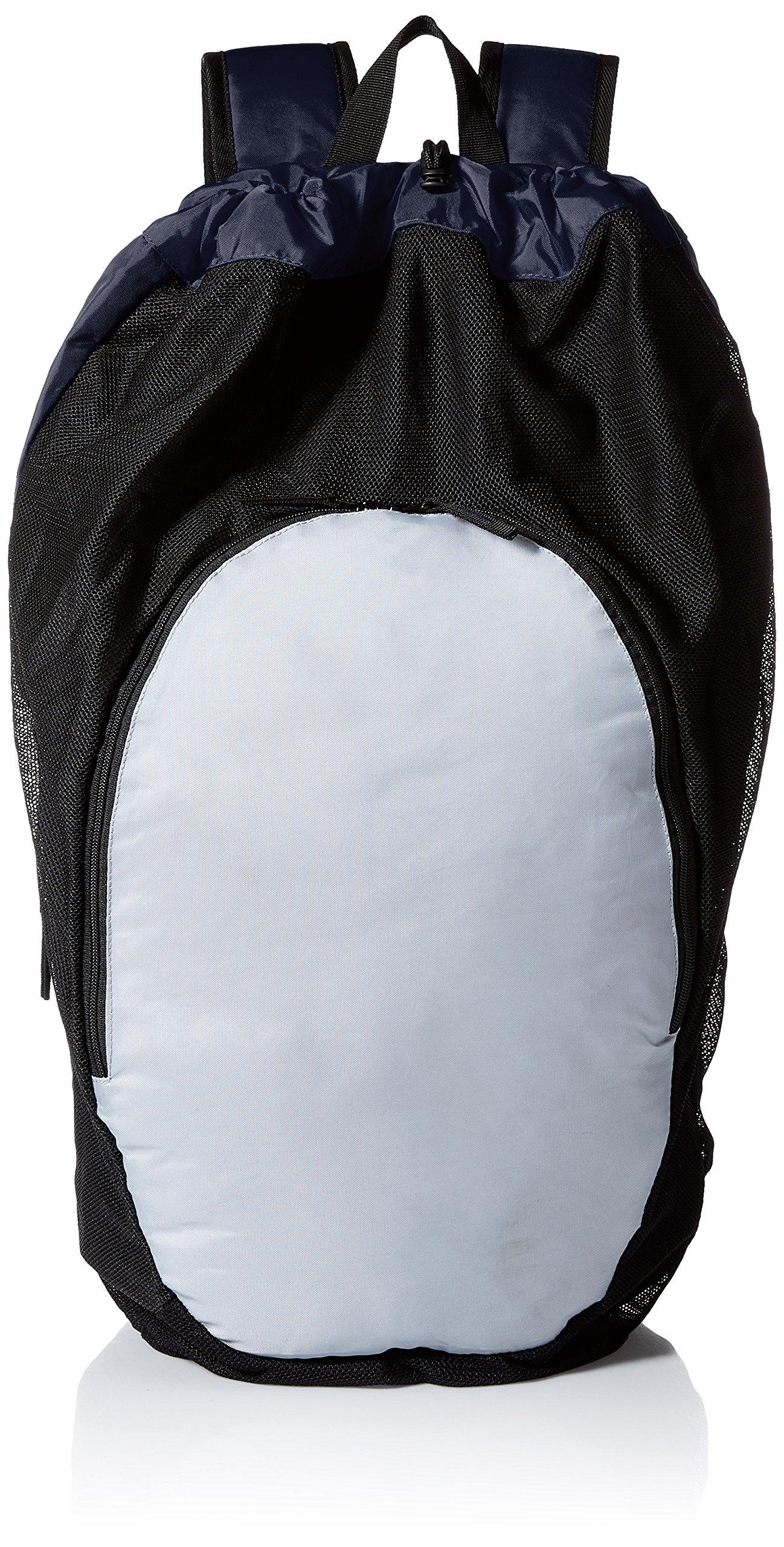 ASICS Gear Bag 2.0, Navy/Athletic Grey, One Size