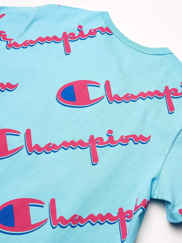 Champion LIFE Mens Heritage Short Sleeve Tee-AOP