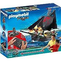 PLAYMOBIL Piratas - Barco Pirata con Control Remoto