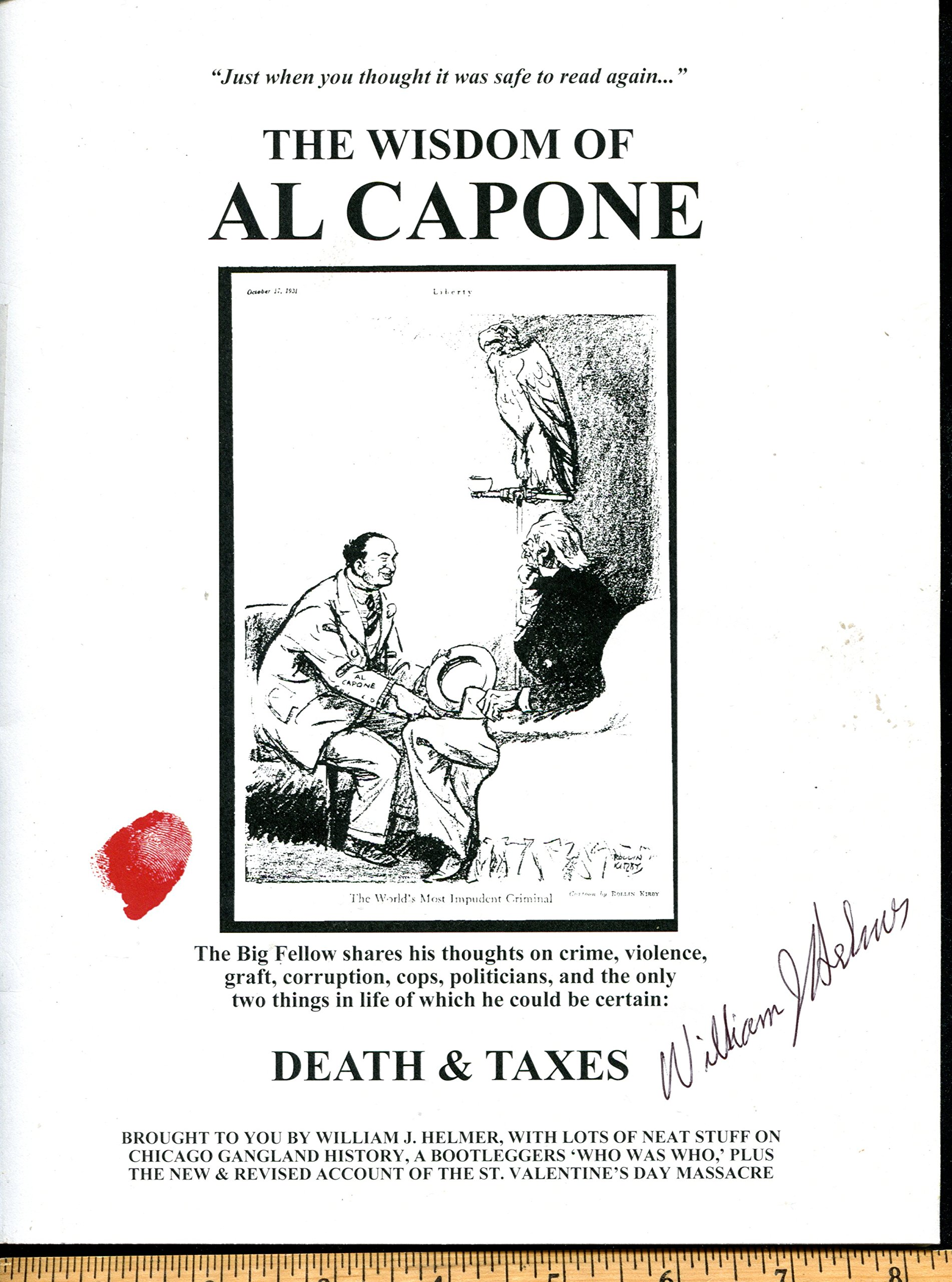 The wisdom of al capone william j helmer 9780999227107 amazon the wisdom of al capone william j helmer 9780999227107 amazon books magicingreecefo Images