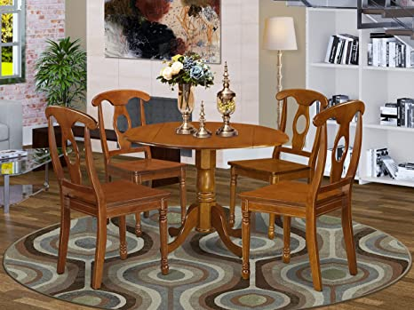 Amazon Com 5 Pc Kitchen Nook Dining Set Breakfast Nook And 4 Dinette Chairs Table Chair Sets