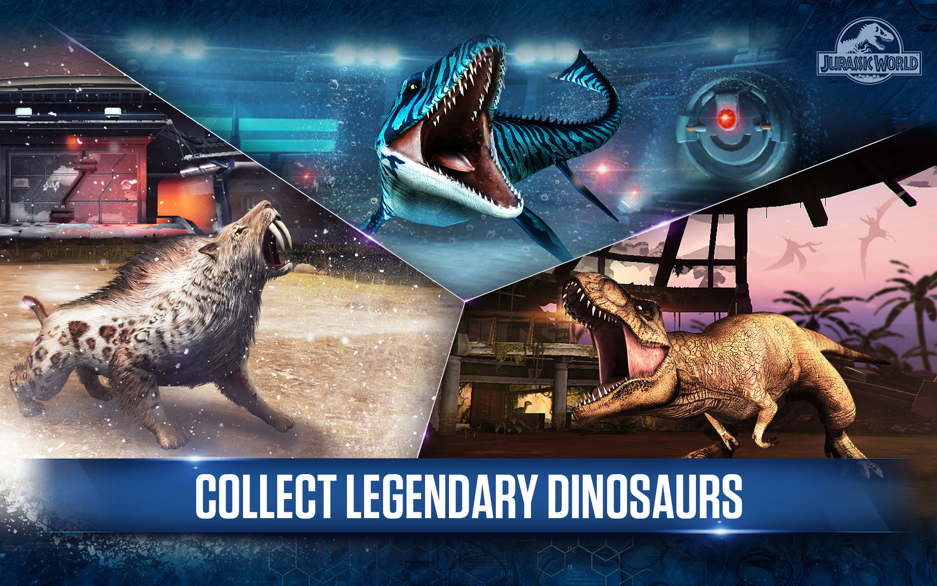 Amazoncom Jurassic World The Game Appstore For Android - Minecraft dino spiele