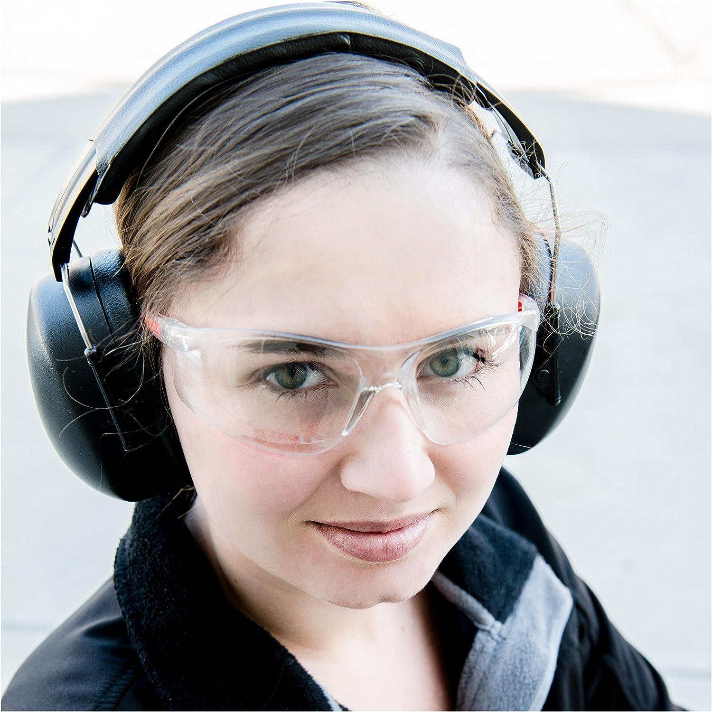 Cleararmor 141001/fusils protection auditive S/écurit/é Cache-oreilles Folding-padded Bandeau Oreillettes Noir