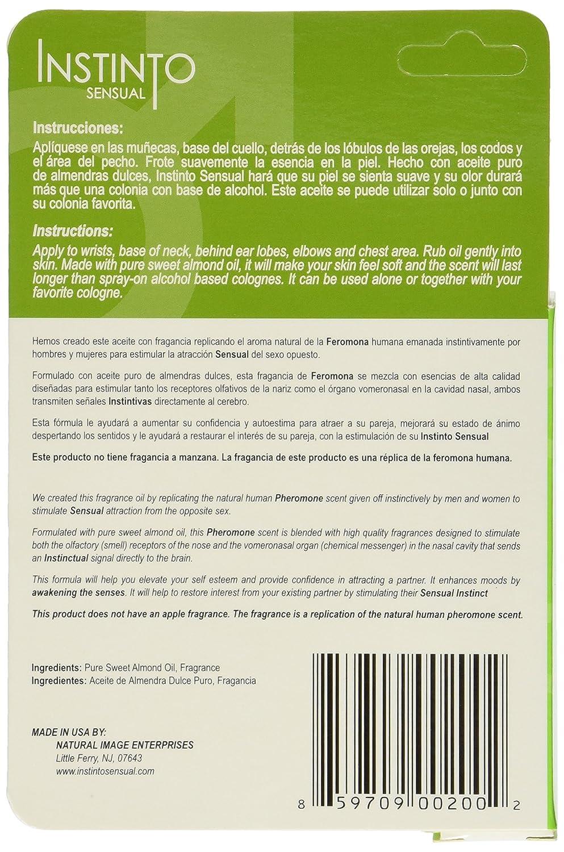 Amazon.com : Instinto Sensual Pheromones for Men, 9 ml, 2-PACK-Feromonas Para Hombres 2-pack : Safer Sex Products : Beauty
