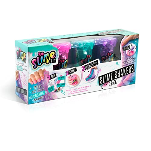 Canal Toys - Loisir Créatif - Slime Shaker - 3 Pièces, CT35803, Rose-bleu-violet