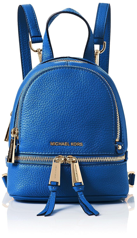 f60e3fd460 Amazon.com  Michael Kors Rhea Zip XS Convertible Messenger Backpack Crossbody