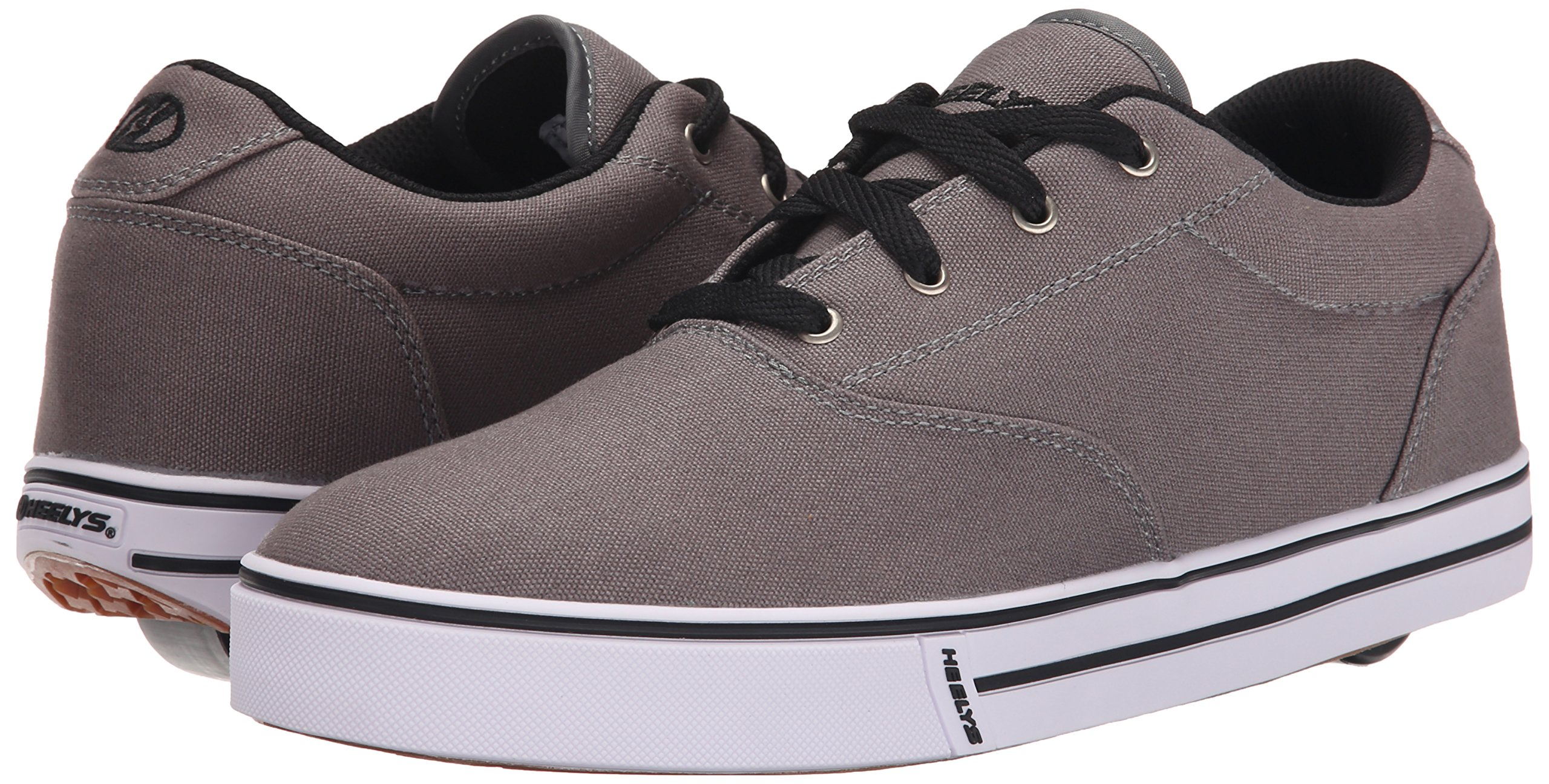 Heelys Men's Launch Fashion Sneaker Grey 10 M US by Heelys (Image #6)